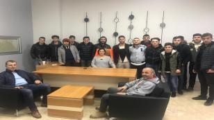 Akova Barışspor U19 Takımı Yemekte Buluştu