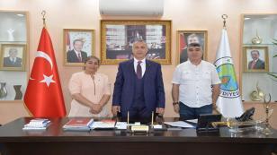 TSD'den Babaoğlu'na Ziyaret