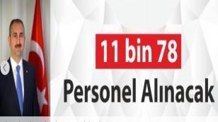 Kamuya 11bin78 Personel Alımı