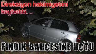 Bayraktepe'de Kaza 1 Yaralı