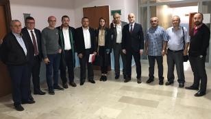 Hendek'li Gazetecilerden Topçu'ya Destek