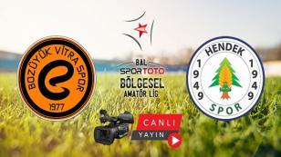 Hendekspor Vitraspor'un Konuğu Olacak