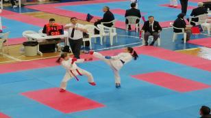 Karate Ligi Hendekte Yapıldı