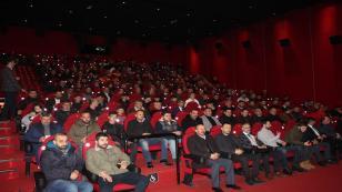 """MHP'liler """"Türkler Geliyor"""" filmini izledi"""