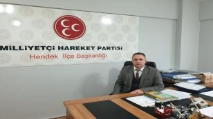MHP İlçe Başkanı Namlı; Ramazan Bayramınız Mübarek Olsun