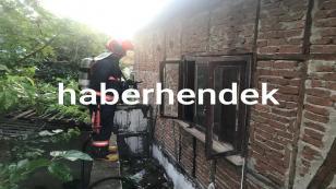 Hendek'te Çıkan Yangın Korkuttu