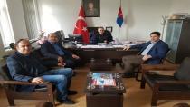 Sofu'dan Jandarma Komutanına Hayırlı Olsun Ziyareti