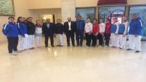 Püsküllü'den Milli Sporcumuz Büşra'ya Ziyaret