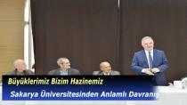 Sakarya Üniversitesinden Anlamlı Davranış