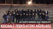 Ak parti Hendek, Kocaali Teşkilatını Ağırladı