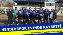 HENDEKSPOR KARASUSPOR'A BOYUN EĞDİ