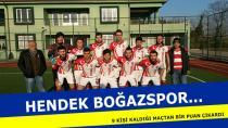 Hendek Boğazspor, Deplasmandan Bir Puanla Döndü