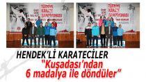 Hendek'li Karatecilerden Altı Madalya