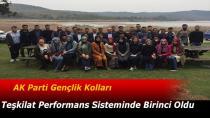 AK Parti Gençlik Kolları Teşkilat Performans Sisteminde Birinci Oldu