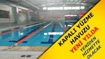 Kapalı Yüzme Havuzu Yeni Yılda Hizmete Giriyor