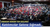 ERBAKAN HENDEK'TEN SESLENDİ