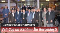 Vali Coş'un Katıldığı Kent Konseyi Toplantısı Gerçekleşti