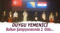 Yemenici, Balkan Şampiyonasında İkinci Oldu