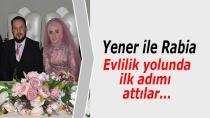 Yener ve Rabia Evlilik Yolunda İlk Adımı Attı