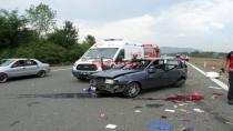 TEM'de Kaza Bir Ölü, İki Yaralı