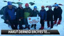 HAKUT DERNEĞİ ERCİYES'TE