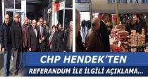 CHP Hendek'ten Referandum Açıklaması