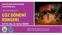 Hendek'te Halk Müziği Konseri