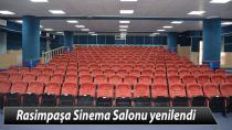 Rasimpaşa Sinema Salonu yenilendi