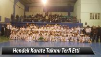 Hendek'te Karateciler Terfi Etti