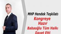 MHP Hendek Teşkilatı Kongreye Hazır