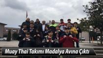 Hendek Muay Thai Takımı Madalya Avına Çıktı
