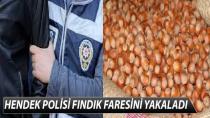 HENDEK POLİSİ FINDIK FARESİNİ YAKALADI