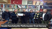 Hendek Fenerbahçeliler Platformundan Örnek Davranış