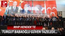MHP Hendek'te Babaoğlu Güven Tazeledi