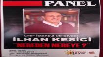 CHP Milletvekili Kesici Sakarya'da Panele Katılacak