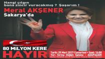 Akşener'in Sakarya'ya Geliş Tarihi Değişti