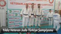 Yıldız Veteran Judo Türkiye Şampiyonu