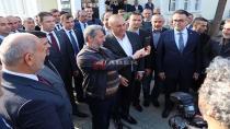 DIŞ İŞLERİ BAKANI HENDEK'İ ZİYARET ETTİ