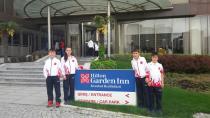 Hendek'li Minik Yıldızlar Balkan Şampiyonasında