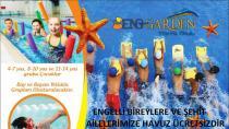 Hendek Aquapark'tan Engelli Bireylere ve Şehit Ailelerine Jest
