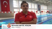 Havuzun Kurbağası Betül Olimpiyatlara Hazırlanıyor