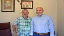 Püsküllü Basın Bayramında Haberhendek'i ziyaret Etti