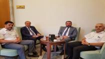 Sofu ve Başhekim Aydın'dan Ankara ziyareti