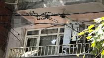 Yanmaya Başlayan Elektrik Kabloları Korkuttu