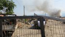 Hendek Nuriye mahallesinde bulunan Çöplükteyangın devam ediyor.