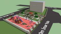 Polis Blokları Parkı Yenileniyor