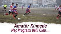 Amatörde Maç Programı