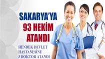 Hendek Devlet Hastanesine üç doktor atandı