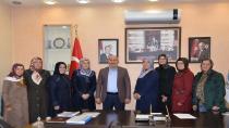 AK Parti Kadın Kollarından Ziyaret
