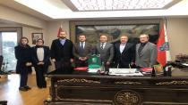 Yeşilay Sakarya Şubesi Emniyet Müdürü Kaya'yı Ziyaret Etti